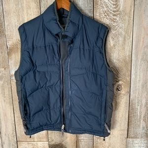 REI Dark Blue Vest Puffer Zip In Sz Small